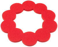 Helmi Trivet Small, red