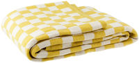 Tivoli Throw, Large white/yellow