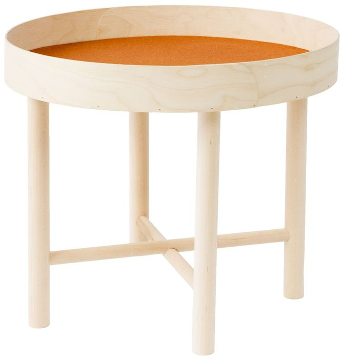 Tuokko Tray Table High M, orange